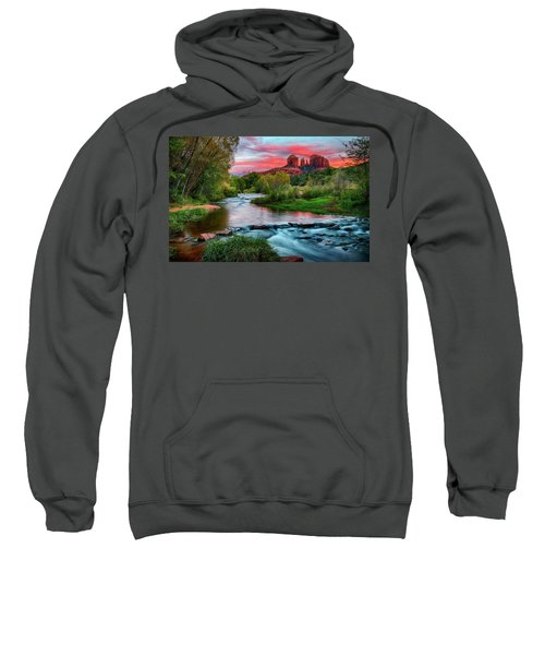 Cathedral At Sunset Sweatshirt