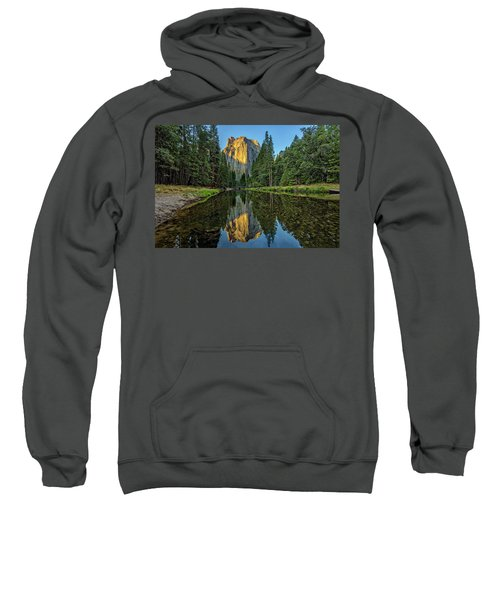 Cathedral Rocks Morning Sweatshirt by Peter Tellone