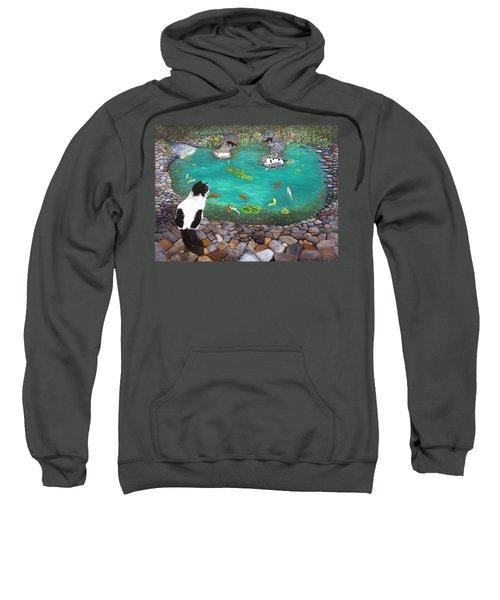 Cats And Koi Sweatshirt
