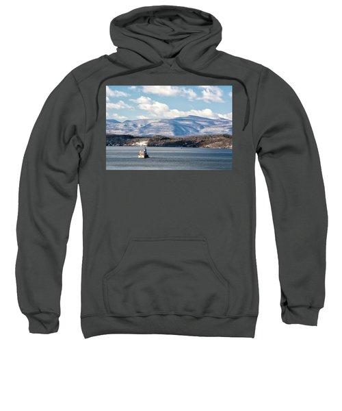 Catskill Mountains With Lighthouse Sweatshirt