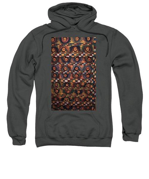 Ceiling Of Angels, Abba Pantaleon Monastery  Sweatshirt