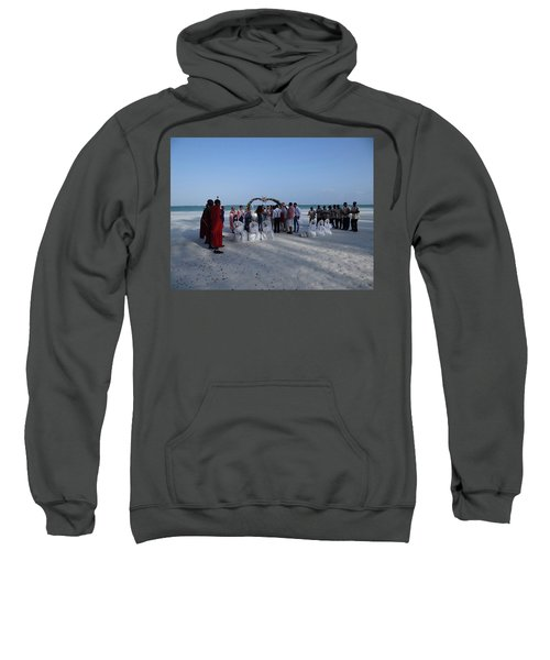 Celebrate Marriage On The Beach Sweatshirt