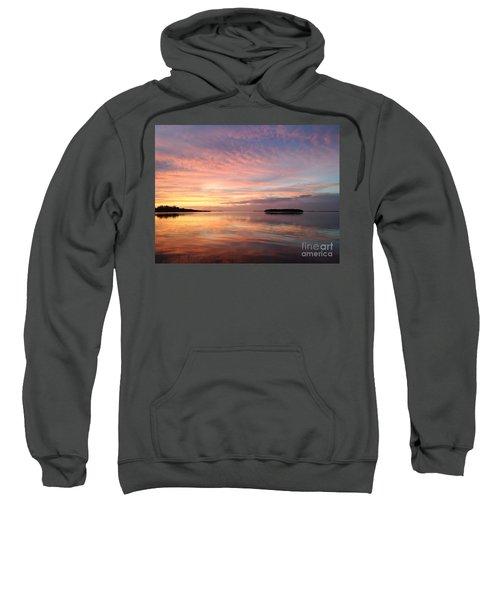 Celebrating Sunset In Key Largo Sweatshirt