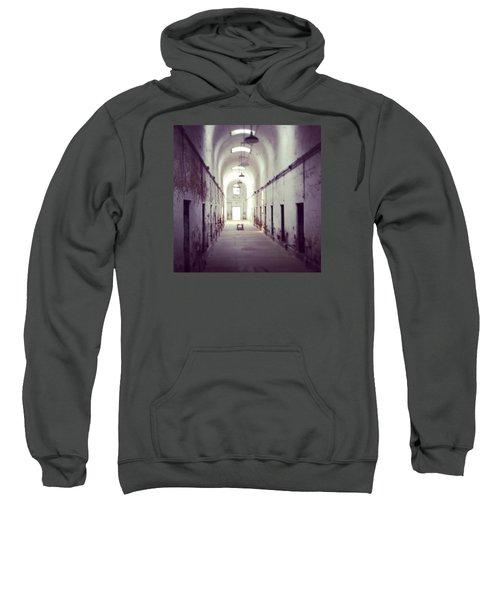 Cell Block Eastern State Penitentiary Sweatshirt by Sharon Halteman