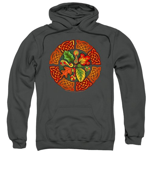 Celtic Autumn Leaves Sweatshirt