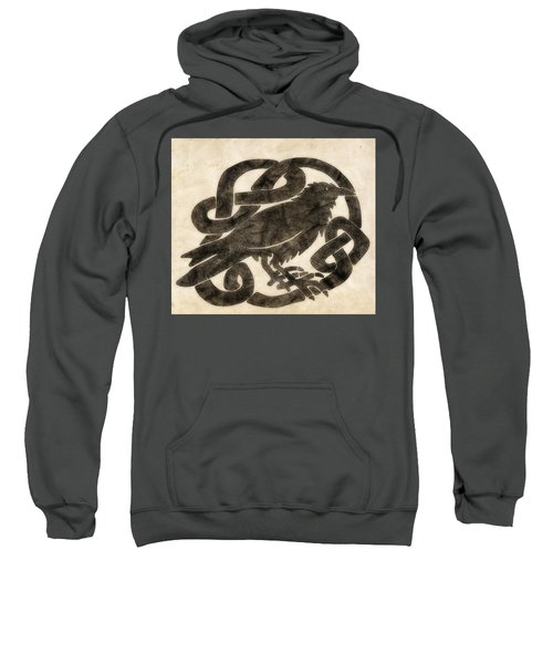Celtic Raven Knot Sweatshirt