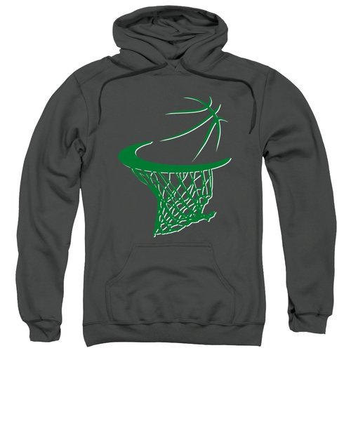 Celtics Basketball Hoop Sweatshirt by Joe Hamilton