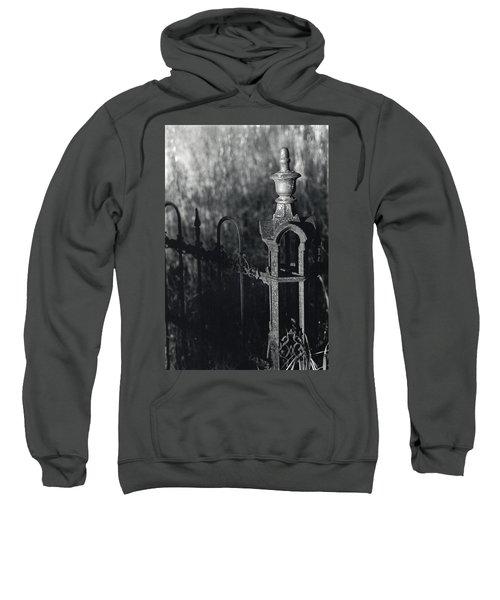Cemetery  Fence Sweatshirt