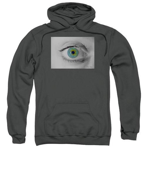 Central Heterochromia  Sweatshirt