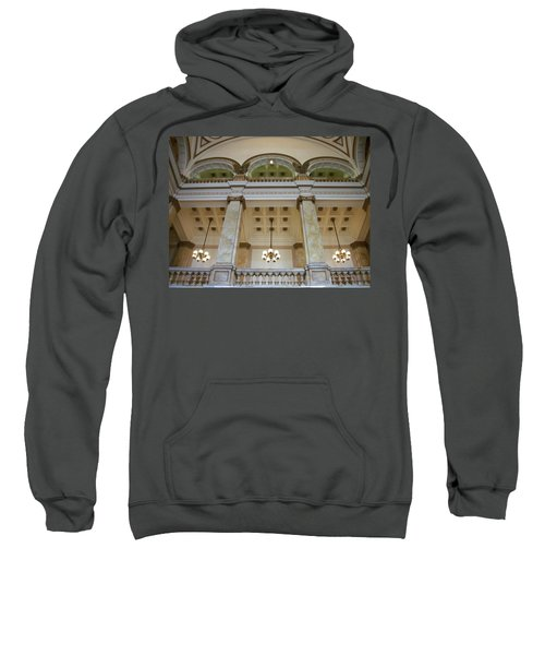 Central Library Milwaukee Interior Sweatshirt