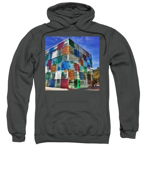 Centre #pompidou #malaga #museo #museum Sweatshirt