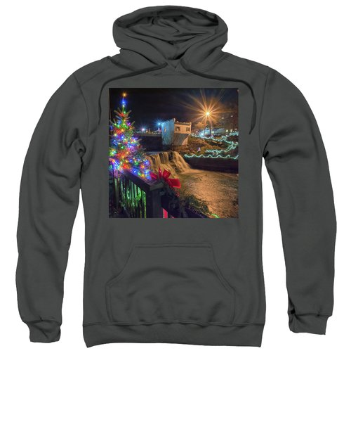 Chagrin Falls At Christmas Sweatshirt