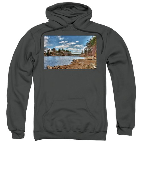 Chain Bridge On The Merrimack Sweatshirt