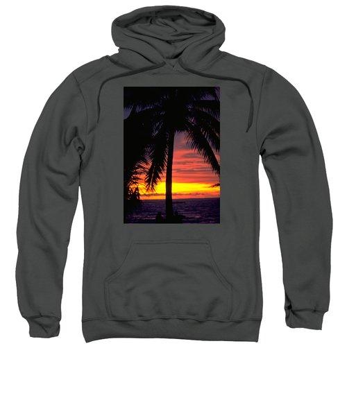Champagne Sunset Sweatshirt by Travel Pics