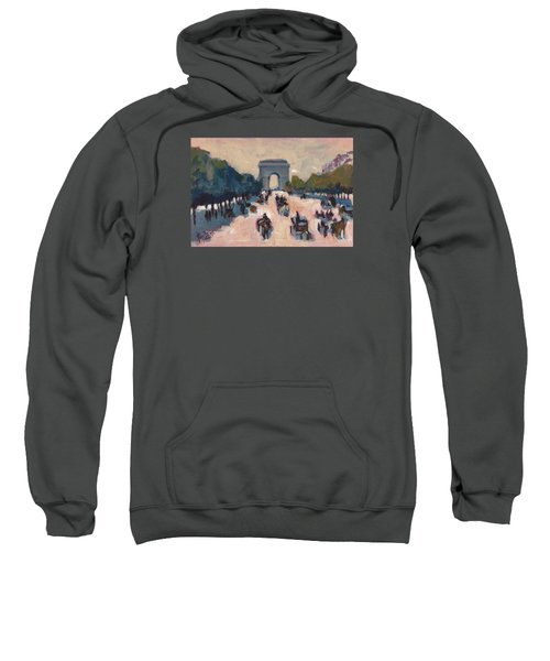Champs Elysees Paris Sweatshirt