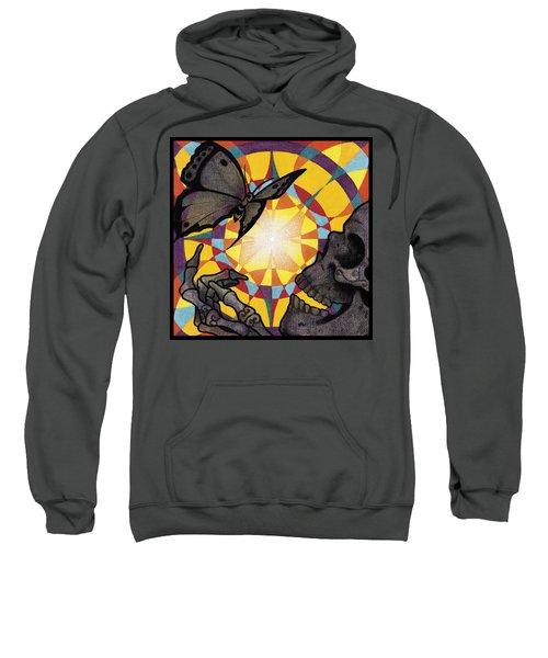 Change Mandala Sweatshirt by Deadcharming Art