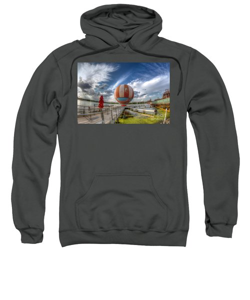 Characters In Flight Sweatshirt