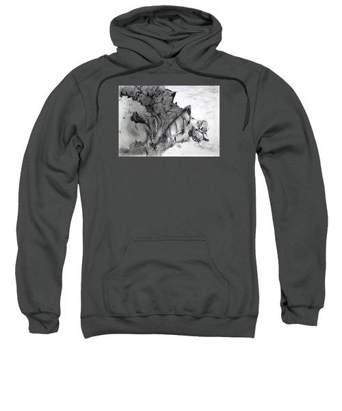Charcoal Sea Rocks Sweatshirt