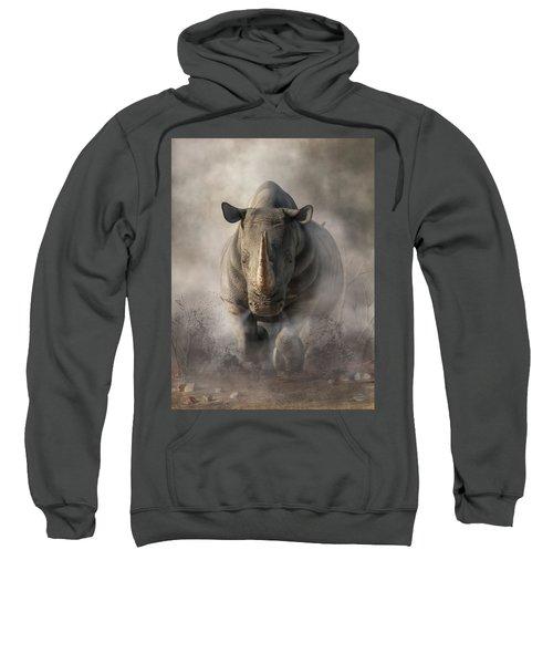 Charging Rhino Sweatshirt