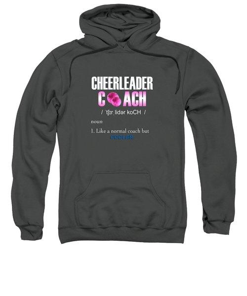 Cheerleader Coach Sweatshirt