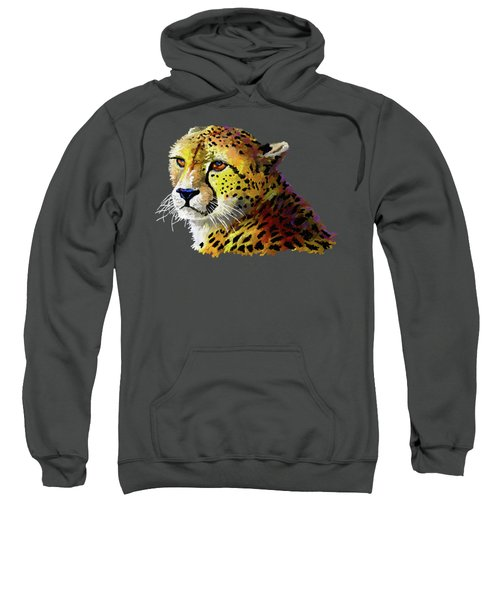 Cheetah Sweatshirt by Anthony Mwangi