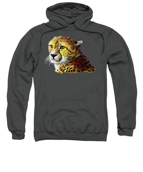 Cheetah Sweatshirt by Anthony Mwangi