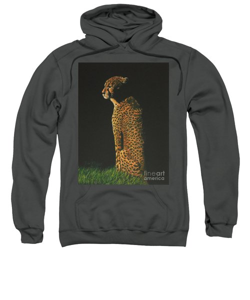 Cheetah At Sunset Sweatshirt