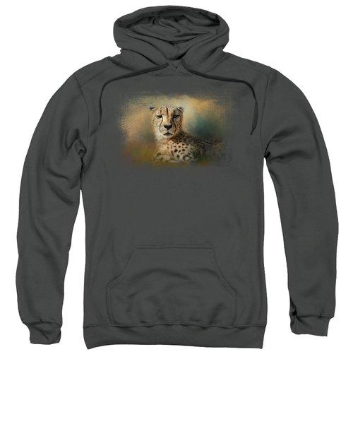Cheetah Enjoying A Summer Day Sweatshirt