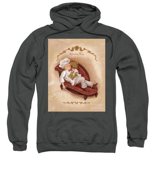 Chefs On A Break-afternoon Nap Sweatshirt