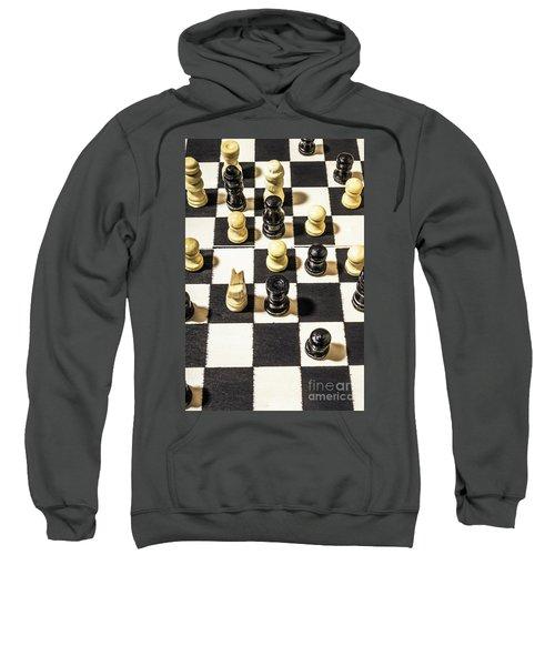 Chequered Strategic Battle Sweatshirt