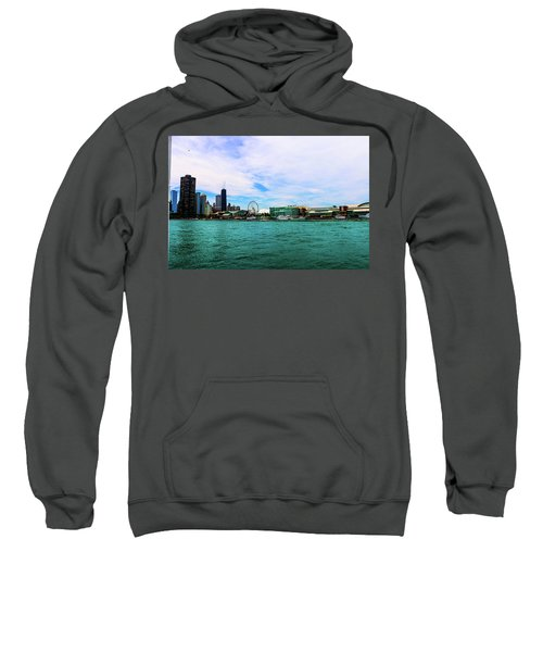 Chicago Blue Sweatshirt
