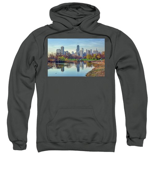 Chicago From Lincoln Park Sweatshirt