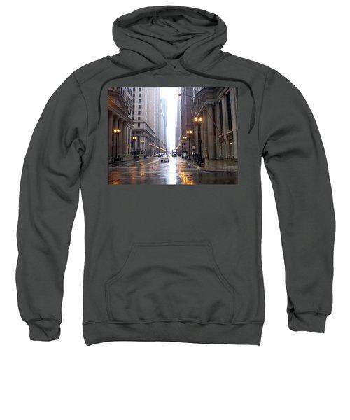 Chicago In The Rain Sweatshirt
