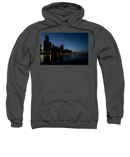 Chicago Skyline From Olive Park  Sweatshirt