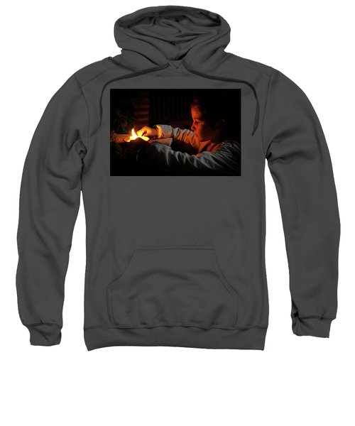 Child In The Night Sweatshirt