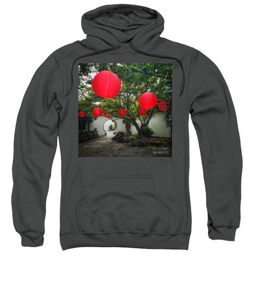 Chinese Tea Garden In Portland, Oregon Sweatshirt
