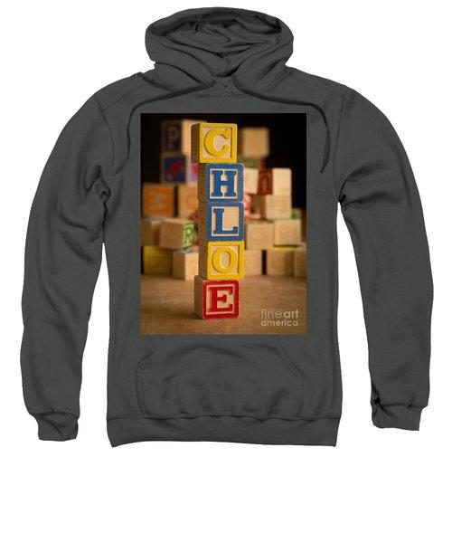 Chloe - Alphabet Blocks Sweatshirt
