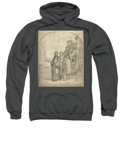 Christ And The Pilgrims Of Emmaus Sweatshirt