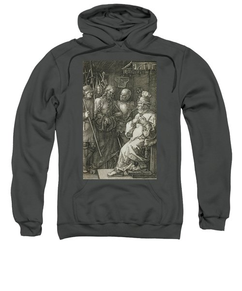 Christ Before Caiaphas Sweatshirt