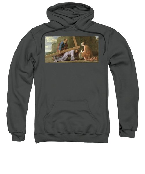 Christ Carrying The Cross Sweatshirt