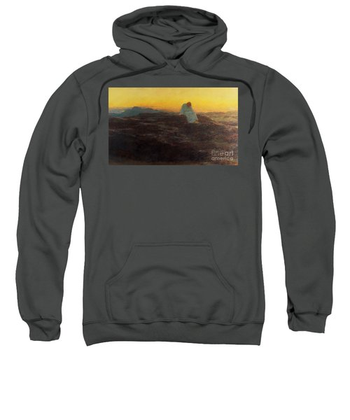 Christ In The Wilderness Sweatshirt