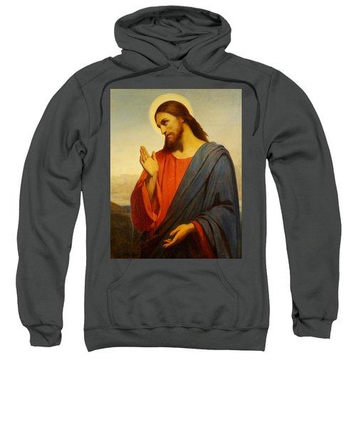 Christ Weeping Over Jerusalem Sweatshirt