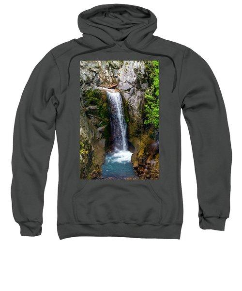 Christine Falls Mt Rainier Sweatshirt