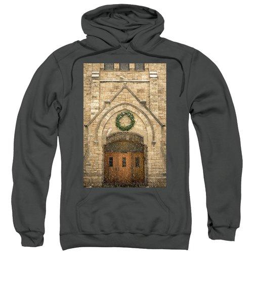 Christmas At Stone Chapel Sweatshirt