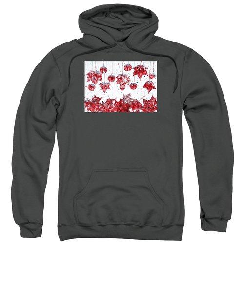 Christmas Decorations Of Nature Sweatshirt