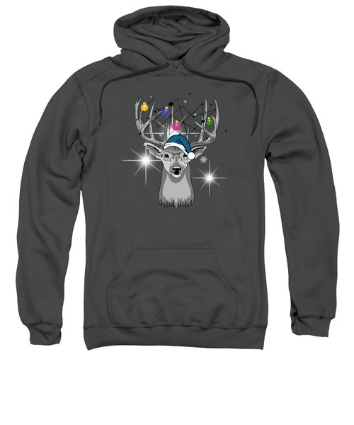 Christmas Deer Sweatshirt