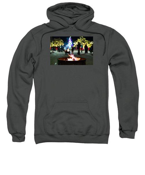 Christmas Fire Pit Sweatshirt