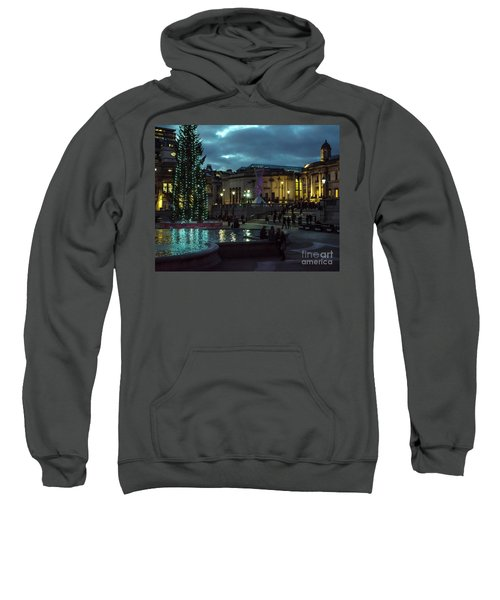 Christmas In Trafalgar Square, London 2 Sweatshirt