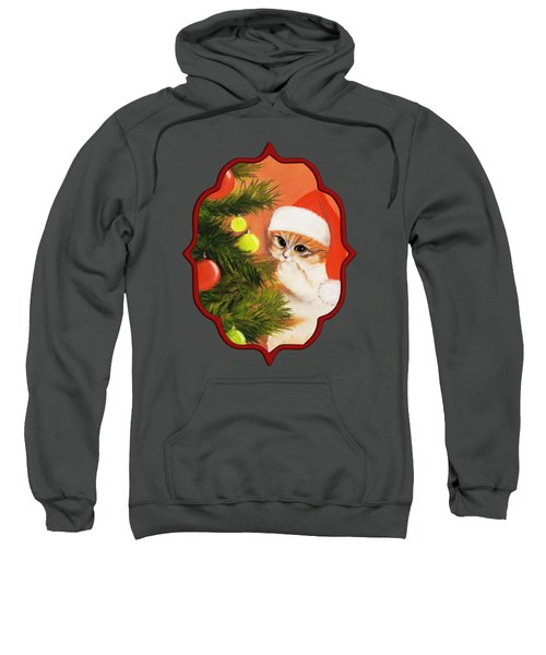 Christmas Kitty Sweatshirt
