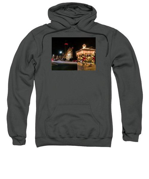 Christmas On Main Street Easthampton Sweatshirt